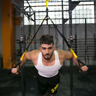 YELLOW G STRAP PRO Home Gym Fitness Trainer Squat Muscle Strength Builder Rack