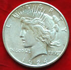 1924 S US Peace Silver Dollar