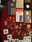 Lot of over 100 coins no silver or gold Bicentennial and foreign and American