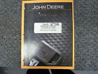 John Deere 410J Backhoe Loader Owner Operator Maintenance Manual OMT211053