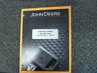John Deere 444K 4WD Wheel  Loader Owner Operator Maintenance Manual OMT275687