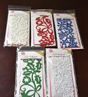 Queen  Co FELT FUSION Self Adhesive 5 packs Embellishments Border Stickers