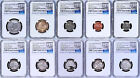 2017 US Mint 225th Anniversary Enhanced Uncirculated 10 Coins Coin set NGC SP70