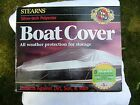 Stearns Silver Tech Boat Cover 14 16 ft V Hull Fish Boats Model B