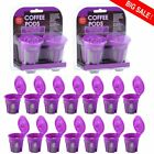 LOT Refillable Reusable K-Cups Filter Pod for Keurig 2.0 1.0 Coffee Makers US RO