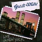 GREAT WHITE Hooked + Live In N.Y. TOCP-6964-65 CD JAPAN 1991 NEW