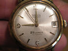 Nice Gruen Precision 25j Autowind Man's Wristwatch w/ beautiful Admiral Band