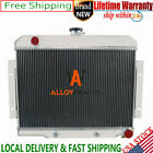 3 ROW ALUMINUM Radiator For 1970 85 Jeep CJ Series w  Chevy Conversion V8 SWAP