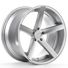 22 ROHANA RC22 MACHINED SILVER CONCAVE WHEELS FOR AUDI A7 S7 A8 S8 22X9 ET30