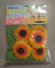 Patio RV Party Blow Mold String Lights Set 10 Daisies Flowers 14' Primal Lite