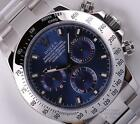Rolex Daytona Cosmograph 116520 Stainless Steel 40mm Watch-Blue Arab Dial-2Y WTY