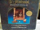 Fontanini 5 Village Collection RARE RETIRED Synagogue School Displayed Twice