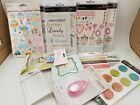 sei rub on ribbons foam stickers big brads sundries scrapbooking embellishment