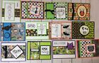 12 Halloween Cards Stampin Up + Combined Shipping