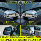 For 2012 2013 2014 2015 2016 NISSAN LEAF Chrome Mirror Covers Overlays Trims