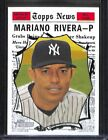 1st Unanimous HOF Selection! Top Mariano Rivera Cards 25