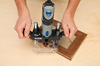 Dremel Accessories Plunge Router Attachment Help for Precise Inlay Work