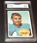 1960 Topps #41 Earl Morrall Lions  GRADED 3.5  BY GMA