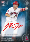 Mike Trout Autograph On-Card #26 49 Topps MVP 2016