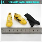 L32 09 1 6 scale Bruce lee Game of Death Yellow sneakers
