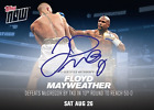 Floyd Mayweather Autograph Card - Limited Edition # 49 Topps Conor Mcgregor