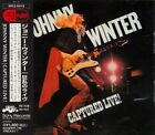 JOHNNY WINTER Captured Live! JAPAN CD SRCS-6419 1994 NEW