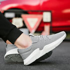 Mens Athletic Sports Shoes Outdoor Running Sneakers Breathable Flats Casual