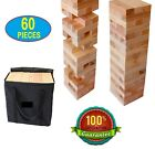 Jenga Game Giant Yard Big Large Wood Block Picnic Party Pool Tower Lawn Outdoor!