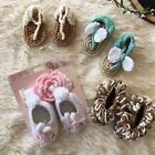 BOUTIQUE BABY GIRL CROCHET BOOTIES LOT X4 SIZE 0 6 MO
