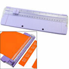 New A4 Precision Paper Card Trimmer Ruler Photo Cutter Cutting Blade Office Kit