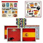 Scrapbook Customs Themed Paper and Stickers Scrapbook Kit Spain Sightseeing