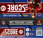 2012 Score Football Retail Box (36 Packs of 7 Cards)
