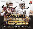 2015 Contenders Draft Football Hobby Box (24 Packs, 5 Autographs)