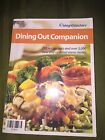 Weight Watchers Points Dining Out Companion Diet Book Restaurant Food meal Guide