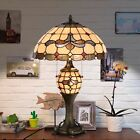 Tiffany Style Lamp Double Lit Desk Lamp Stained Glass Home Decor Lighting