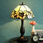 Tiffany Style Lamp Victorian Stained Glass Desk Lamp Floral Home Decor Lighting