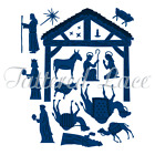 Tattered Lace Nativity Scene 3D05 Craft Cutting die dies christmas festive set