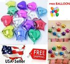 10 18 Star Heart Foil Balloon Birthday Baby Shower Bride Party FREE GIFT