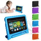 Kids EVA Handle Rugged Shock Proof Case Cover For Amazon Kindle Fire HD 7 2015