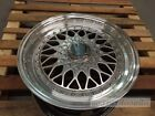 17 RS STYLE HYPER DARK WHEELS RIMS FITS VW VOLKSWAGEN RABBIT EOS SPORTWAGEN TDI