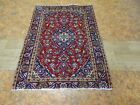 Cr.1950 Kashan Antique Exquisite Stunning Hand Made Persian Rug