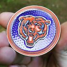 PREMIUM NFL Chicago Bears Poker Card Protector Metal Coin Golf Marker NEW