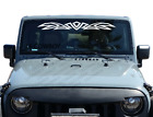 Tribal Graphic Windshield Banner Decal Back window Sticker Flame Fits Jeep WB1