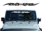 Tribal Windshield Banner Decal Back Window Sticker Fits Jeep Silverado Wb9
