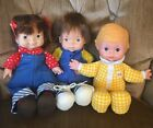 Fisher Price LapSitter Dolls Audrey, Joey And Honey ~ Complete Original Clothes