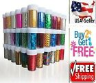 60 Colors Nail Art Stickers Tips Wraps Transfer Foil US SELLER BUY2GET1FREE B