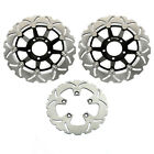 For Suzuki GSF 600 BANDIT S SV 650 S RF400R GSX750F Front Rear Brake Disc Rotors