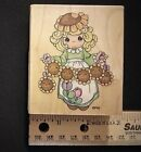 Stampendous 1996 Precious Moments UV011 Always Shine rubber stamp NEW