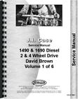 Case 1490 1494 1594 1690 Diesel Tractor Service Manual