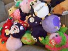 VARIETY OF TY BEANIE BALLZ MONSTAZ BALLS MICKEY TURTLE STEELERS BRITTANY EASTER